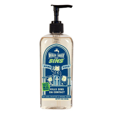 Wash Away Your Sins Liquid Hand Soap - Sour Sentiments   - 1
