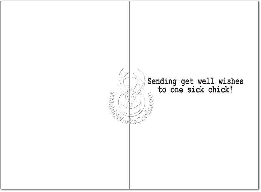 Wasted Sick Days Get Well Card - Sour Sentiments   - 2