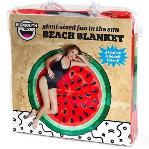 Watermelon Beach Blanket In Packaging