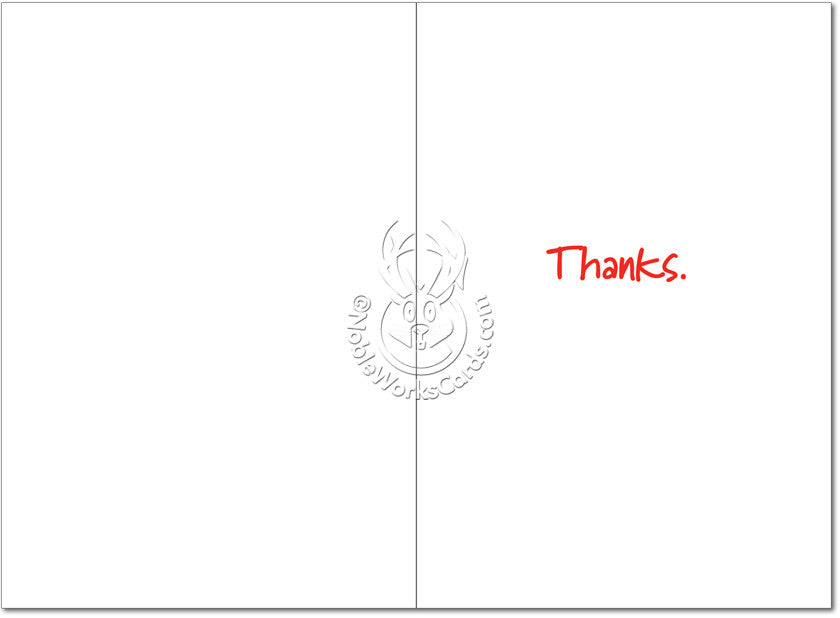 You Are Welcome Thank You Card - Sour Sentiments   - 2