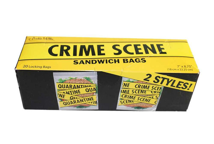Crime Scene Sandwich Bags - Box