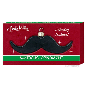 Mustache Ornament - Sour Sentiments   - 1