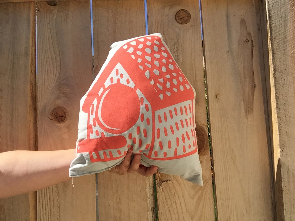 Casita NOCHTOTOTL | Pillow Orange/grey