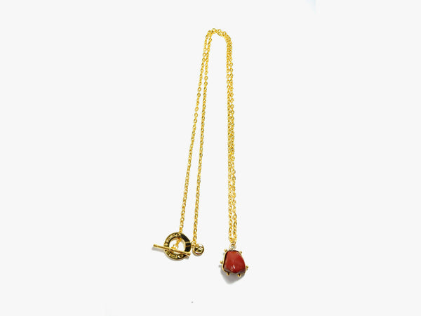 Red POWER stone Necklace