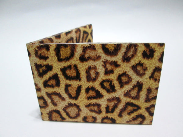 Animal print recycled Paper Wallet