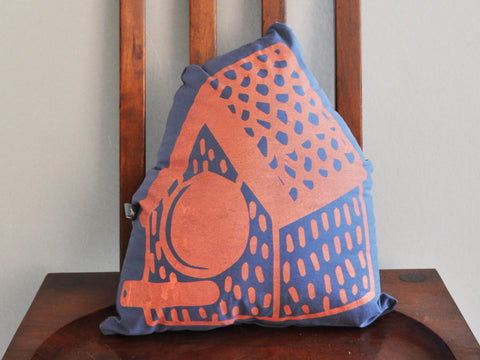 Casita NOCHTOTOTL | Pillow Orange/blue