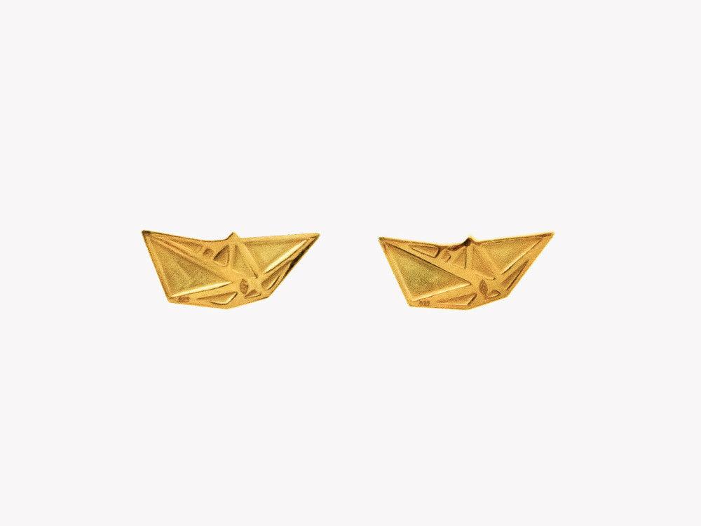 Boat gold studs