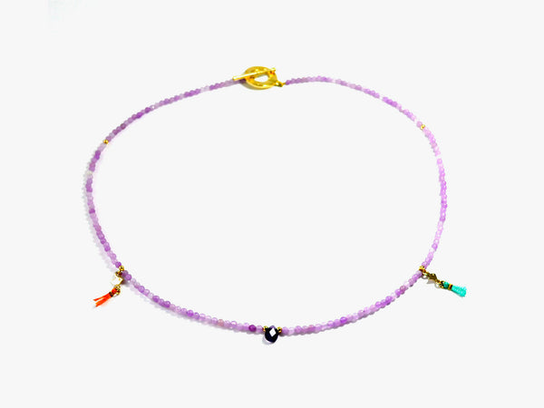 Lilac INKA necklace