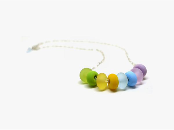 Pretty pastel | Murano glass necklace