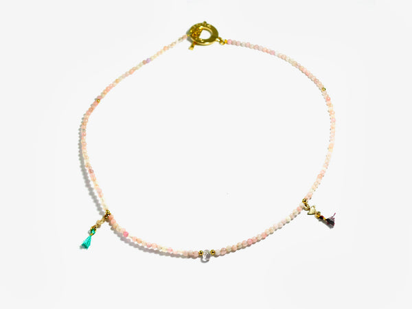 Light Pink INKA necklace