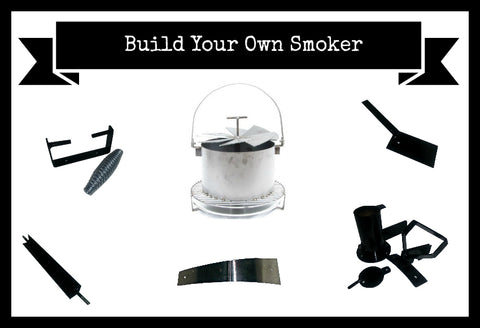 Image of Hunsaker Vortex Smokers parts.