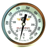 Tel-Tru Dial Thermometer For Hunsaker Smoker