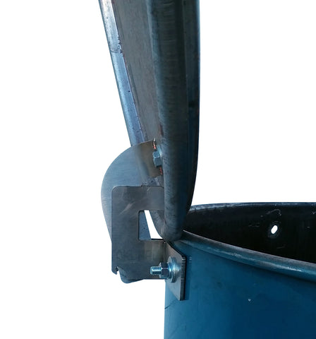Stainless Steel Floating-Hinge For Drum Smoker
