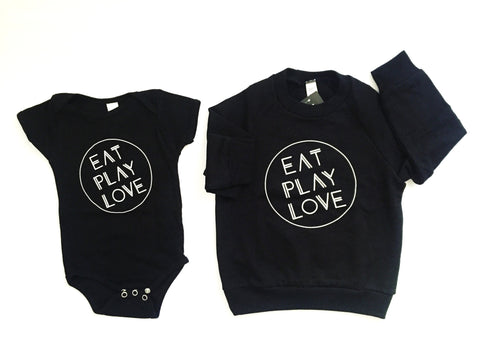Eat Play Love | One-Piece and Pullover