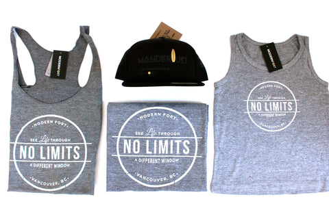 NO LIMITS Racerback Tanks - Adults | Canucks Autism Network