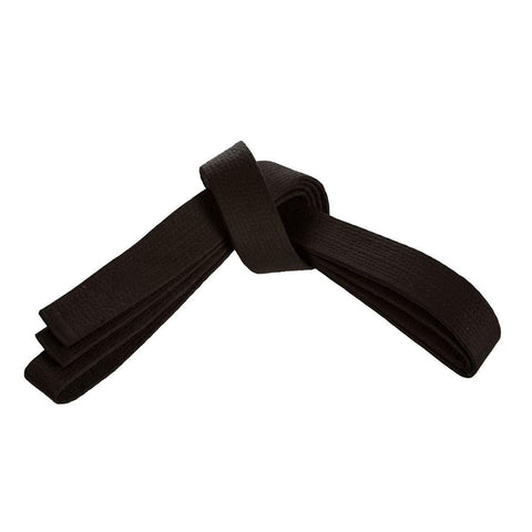 "Deluxe 2"" Wide Black Belt"