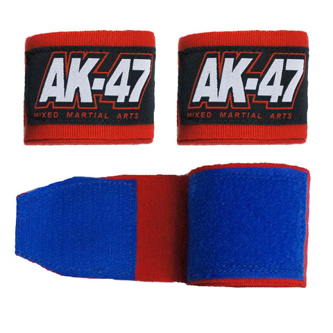AK-47 Boxing Hand Wraps Red