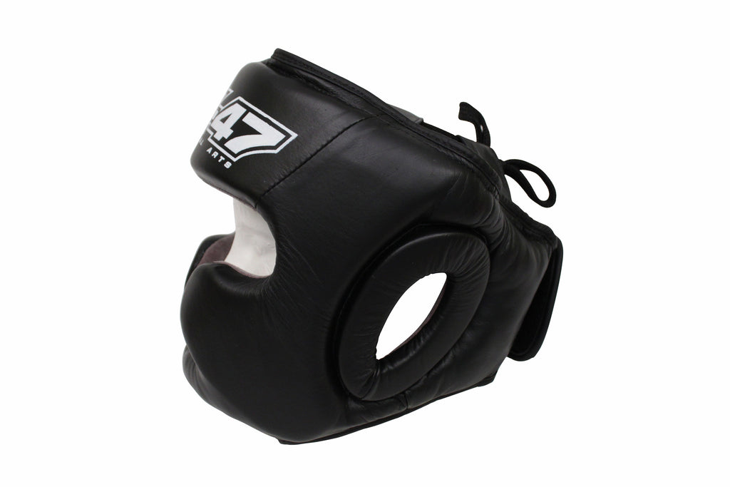 AK-47 Boxing Head Gear Black
