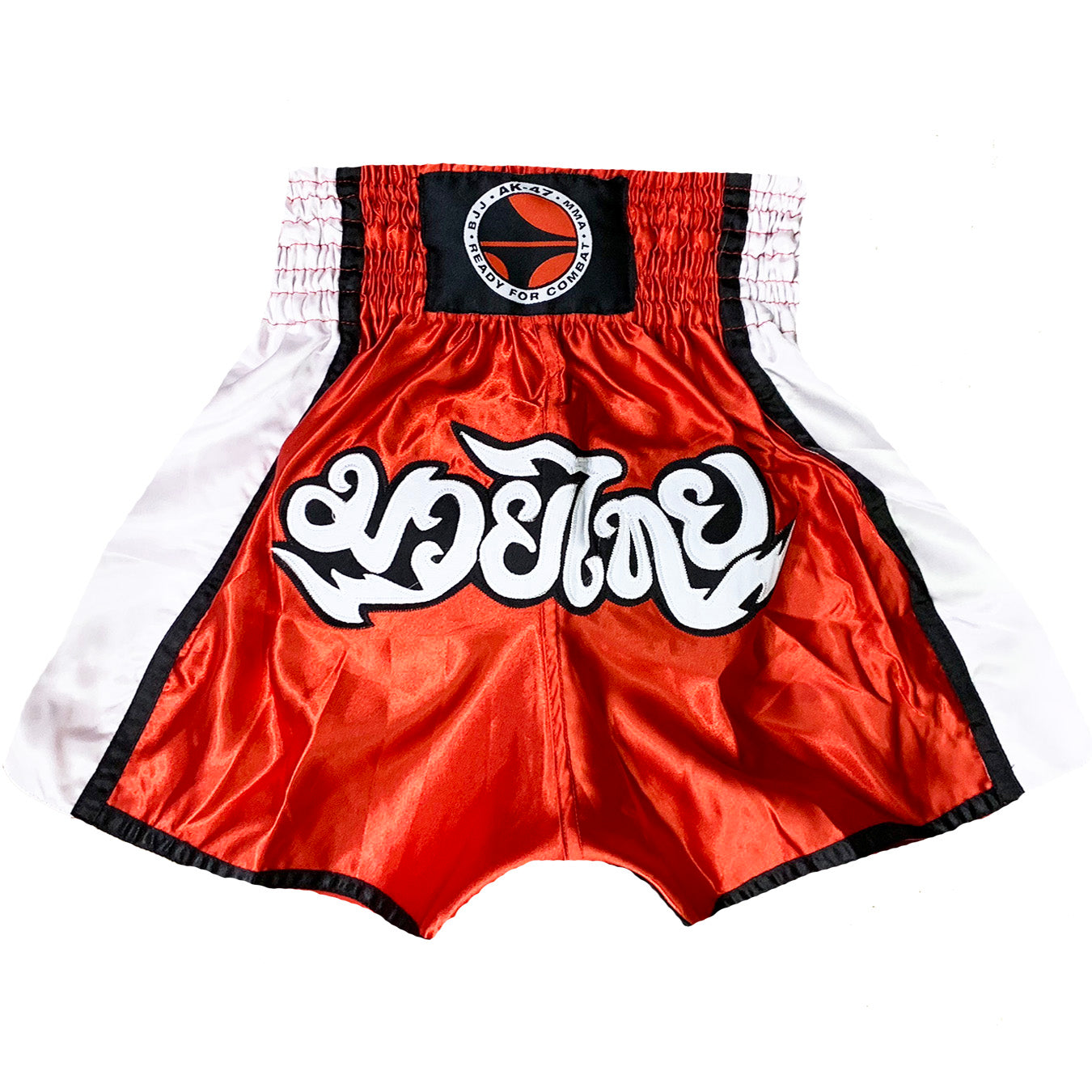 AK-47 Muay Thai Shorts Red and Black