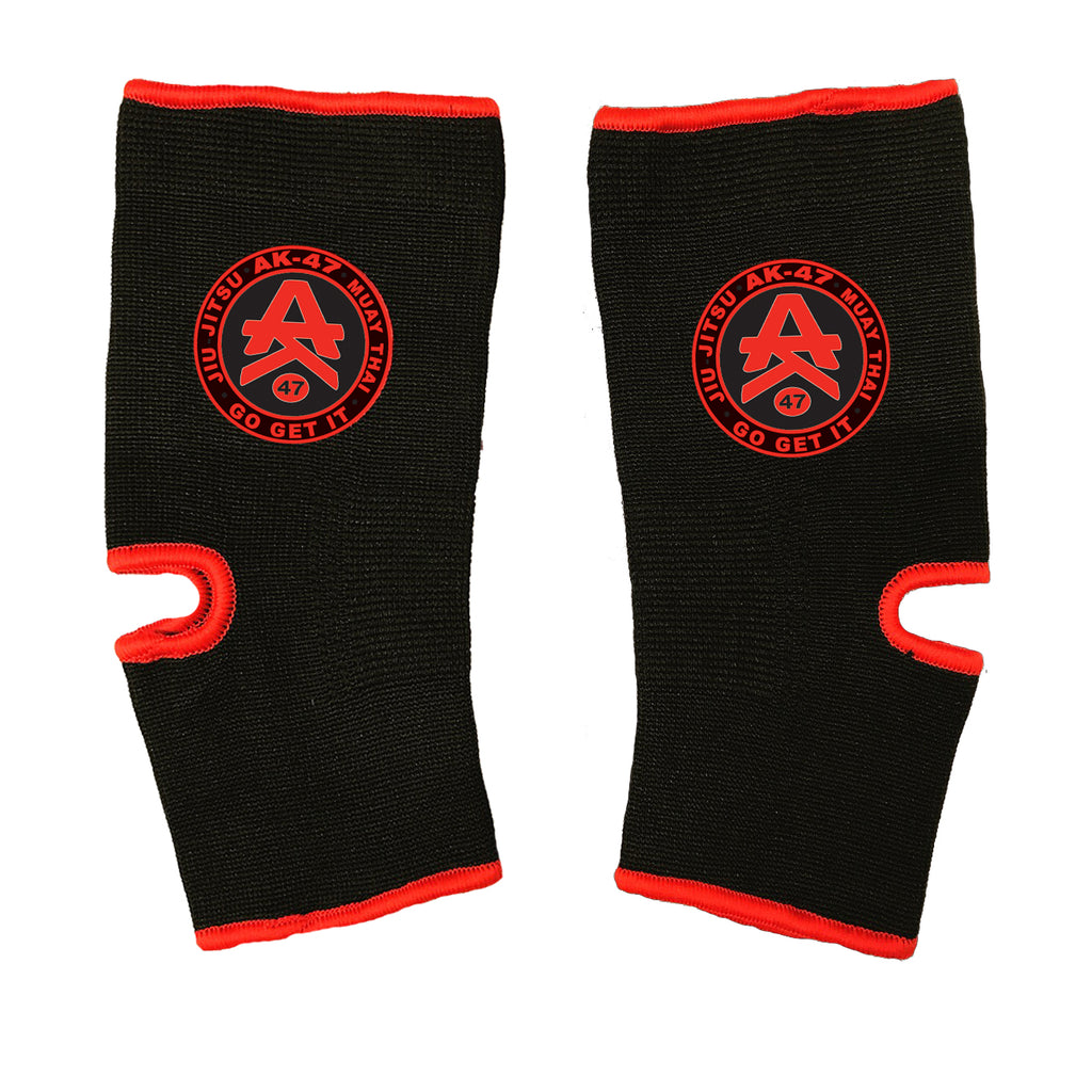 AK-47 Ankle Support Black & Red
