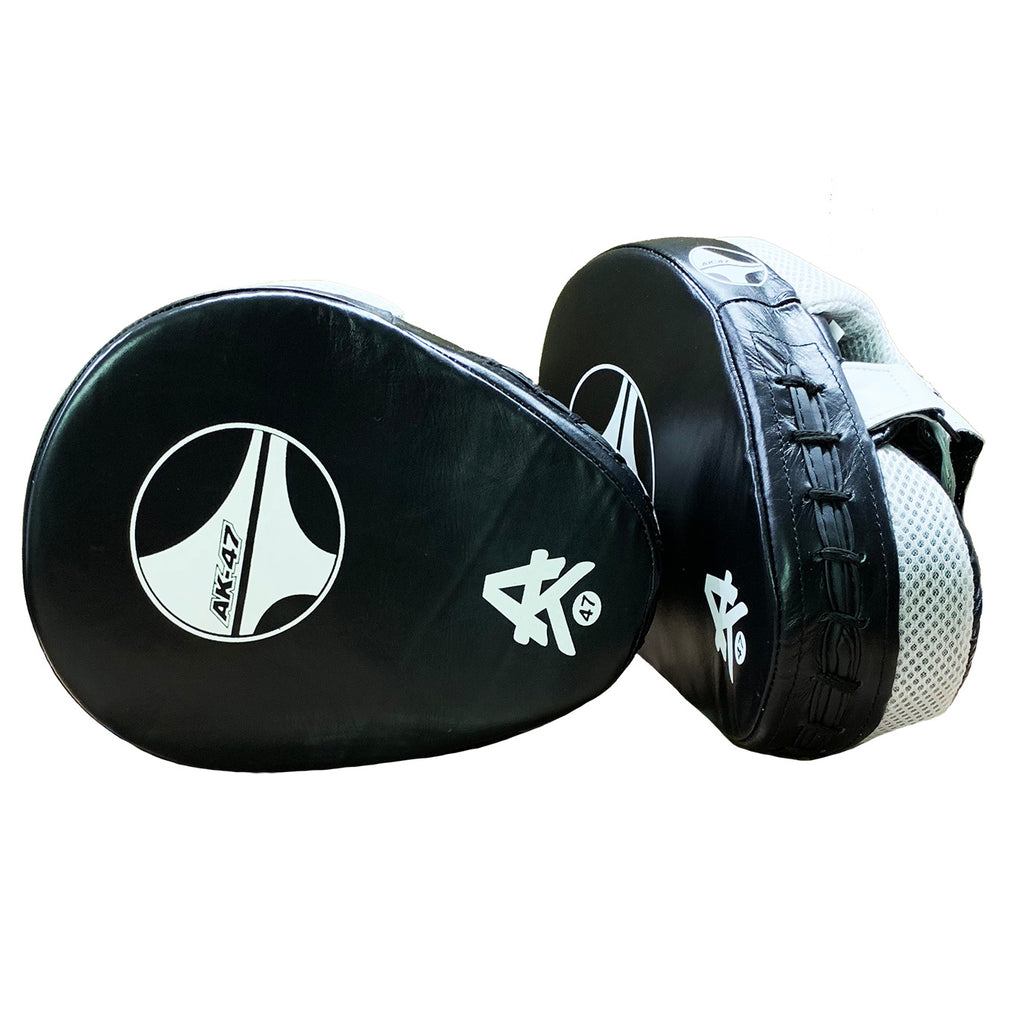 AK-47 Focus Mitts White