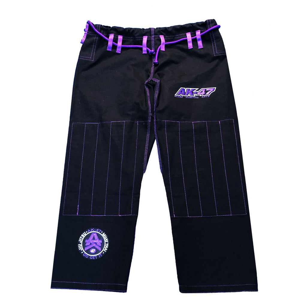 G5 BJJ Uniform Black & Purple