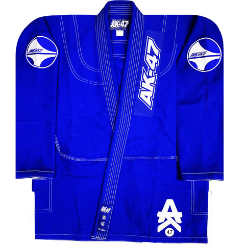 G5 BJJ Uniform Blue & White