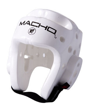 Macho Dyna Head Gear White