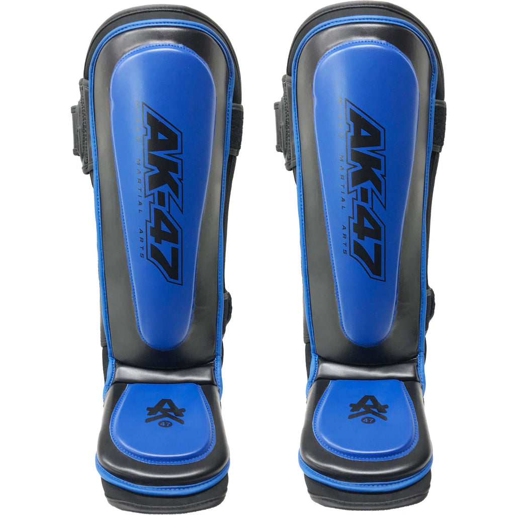 Matrix Shin Pad Black & Blue