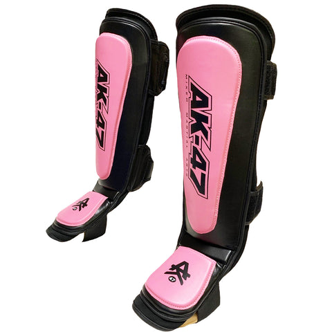 Matrix Shin Pad Black & Pink