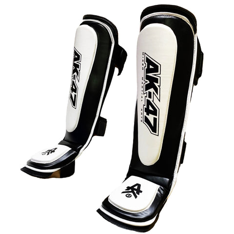 Matrix Shin Pad Black & White