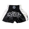 AK-47 Muay Thai Shorts Black and White