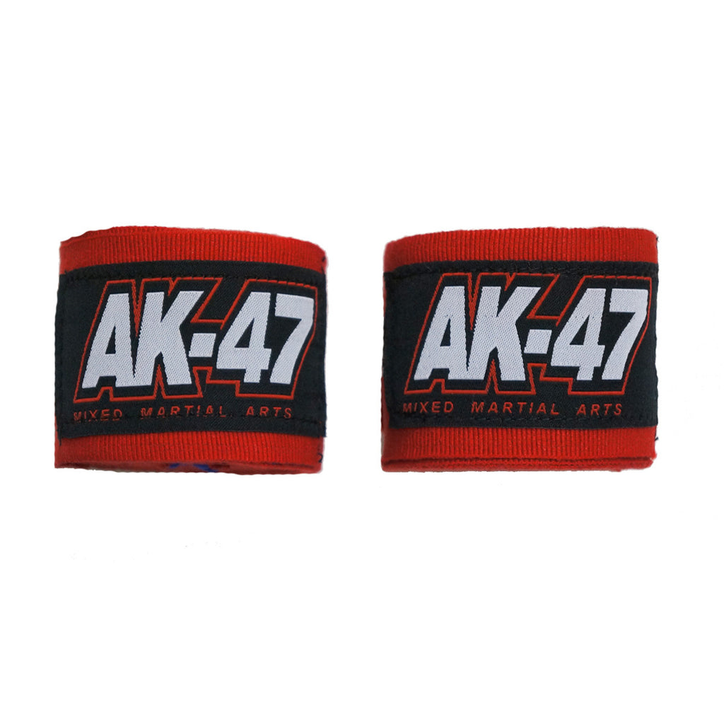 AK-47 Pro Kids Boxing Handwraps Red