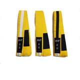 AK-47 Kids Jiu Jitsu Yellow Belt w Black Stripe