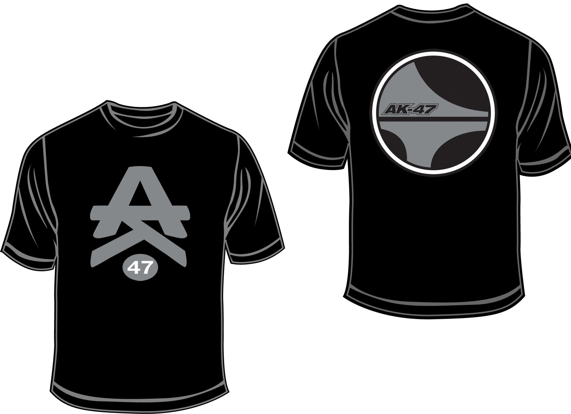 AK-47 Silver and Black Oakland Edition T-Shirt (LIMITED EDITION)