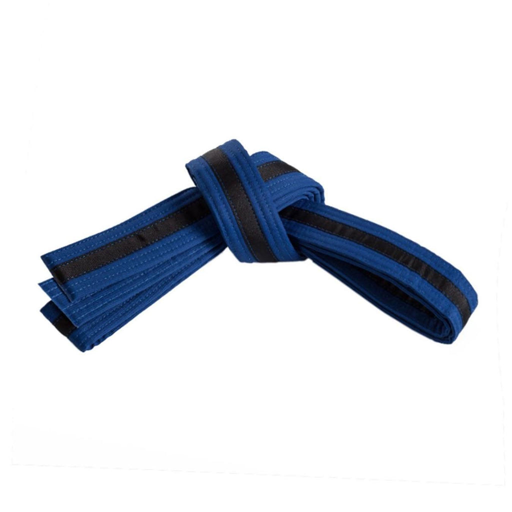 Blue Belt with Black Stripe