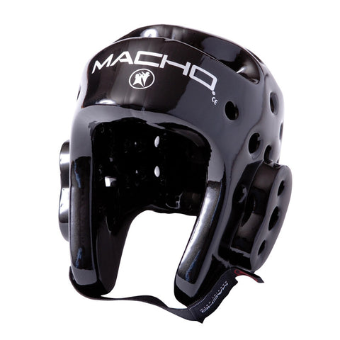 Macho Dyna Head Gear Black