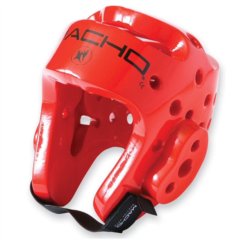 Macho Dyna Head Gear Red