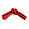 Orange Belt with Black Stripe