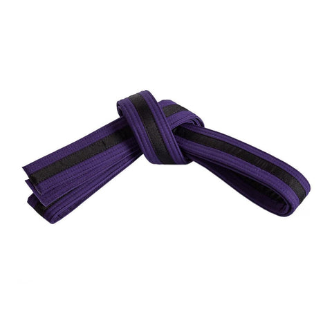 Purple Belt with Black Stripe