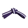 Purple Belt with White Stripe