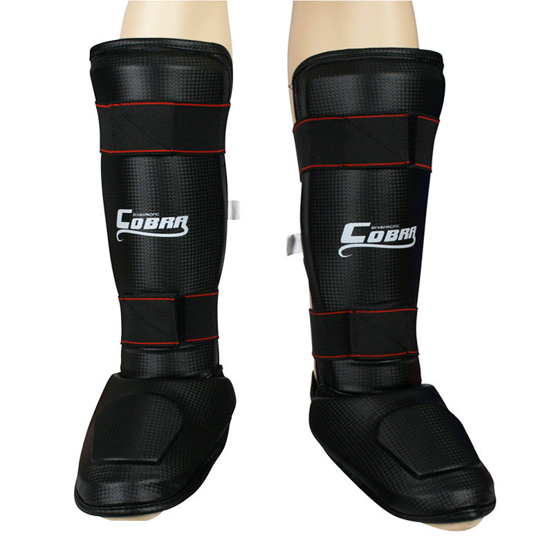 Cobra Shin & Instep Guard Black