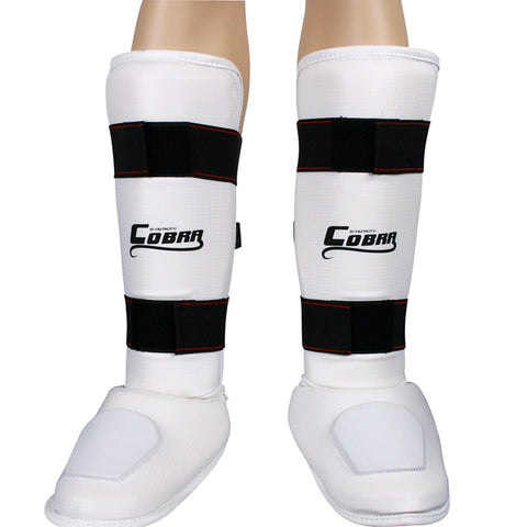 Cobra Shin & Instep Guard White