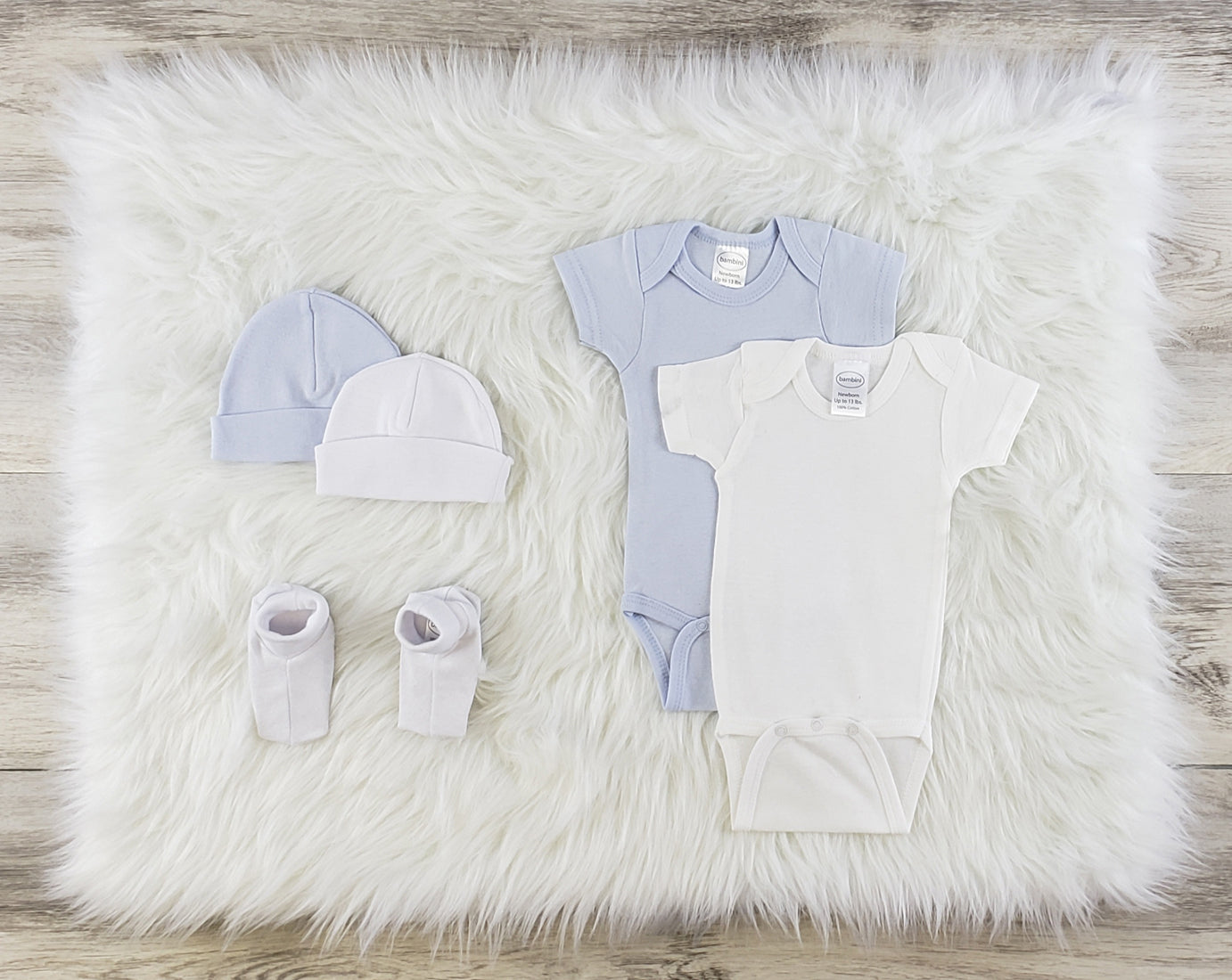 Bambini 5 Pc Layette Baby Clothes Set