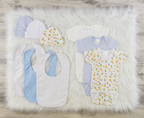 Bambini 9 Pc Layette Baby Clothes Set