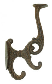Solid Cast Iron Victorian Coat Hook 24 Pieces