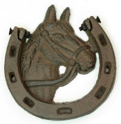 Cast Iron Horse Shoe Door Knocker