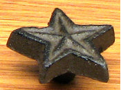 Double Star Drawer Pull Set/12