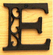 Cast Iron Letter E Set of 10 Bulk