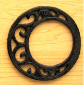 Cast Iron Letter O Set of 10 Bulk